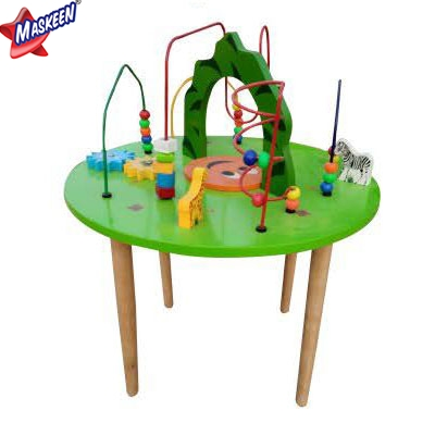 Kids Wooden Table Manufacturer in Bijnor