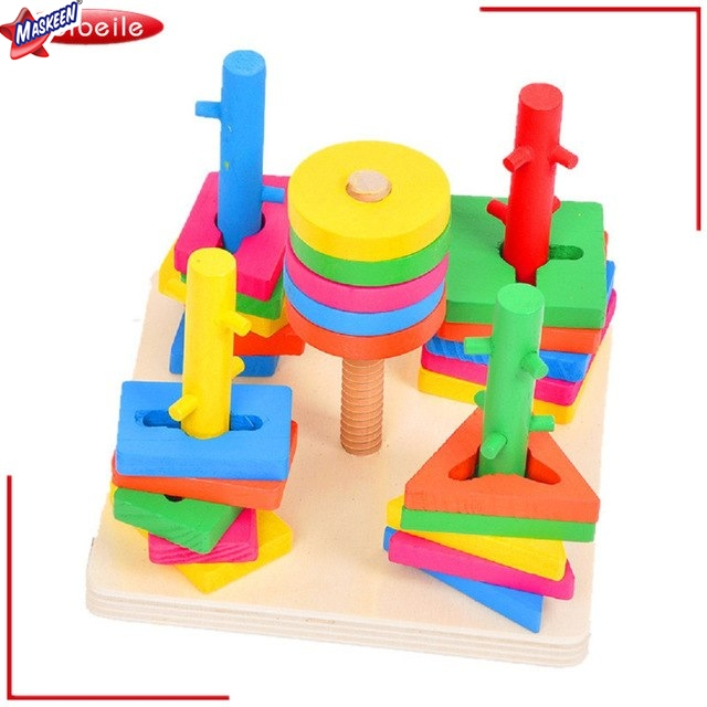 Wooden Play School Toys Manufacturer in Bijnor
