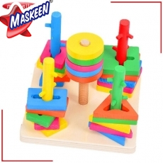 Wooden Play School Toys in Indore