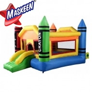 Jumpee Bouncy With Slide Manufacturer in Ahmedabad