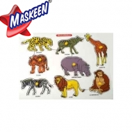 Kbob Puzzle Animals Manufacturer in Ahmedabad