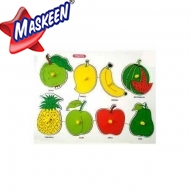 Knob Puzzle Fruits Manufacturer in Bijnor